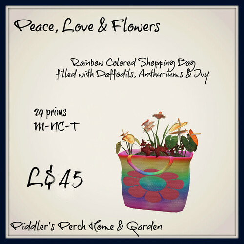 Rainbow Shopping Bag Garden - Retreat