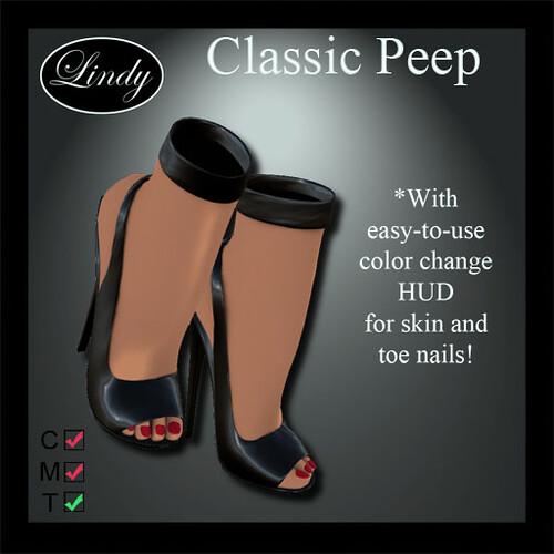 Classic Peep BlkPat
