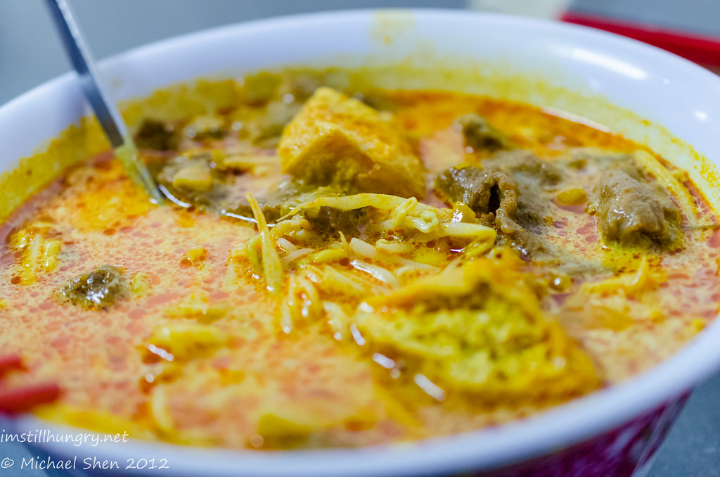 Malay Chinese Beef laksa