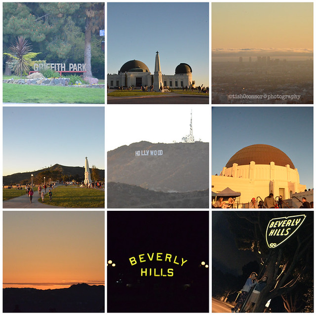 griffith observatory collage