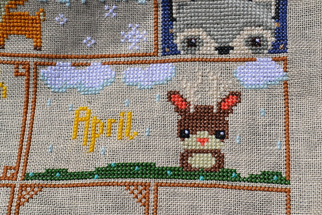 April Woodland Sampler