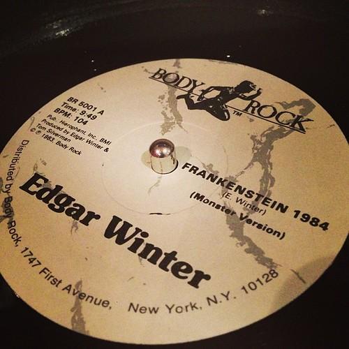 #frankenstein1984 #1983 #hiphop #oldschool #vinyl #edgarwinter #tomsilverman #bodyrock