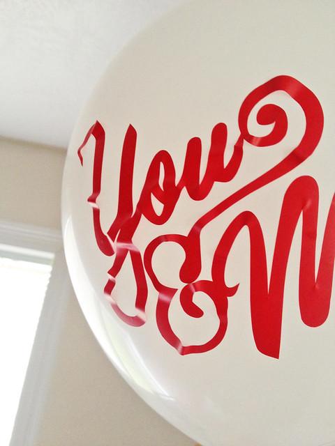 Vinyl on Balloons