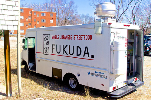 Fukuda Truck at North Hills Food Truck Roundup March 2013