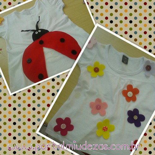Customizando Camiseta by miudezas_miudezas