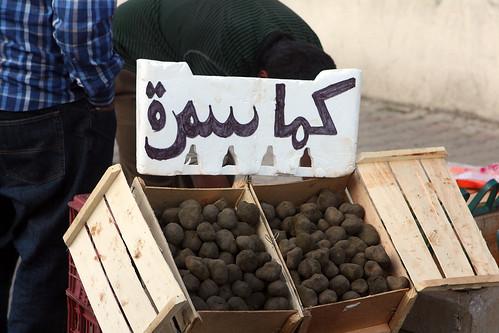 Lebanese black truffles