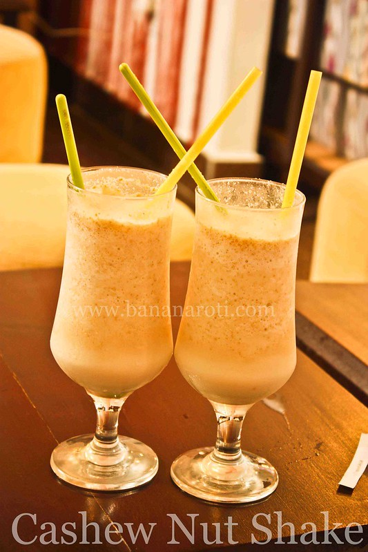 Cashew Nut Shake at Bon Cafe Siem Reap