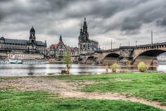 Augustusbrücke Dresden HDR