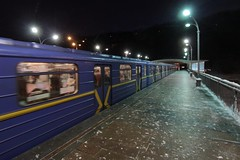 Type 'EЖ' at Dnipro (Днiпро) station