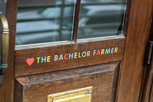 Outside Bachelor Farmer