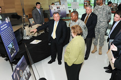 U.S. Sen. Barbara Mikulski visits APG, tours RDECOM technology displays