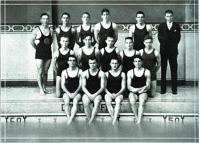 Duke university swimming team 1929 flickr photo sharing for Durham university swimming pool