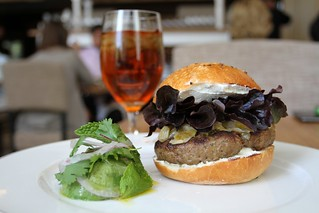 Lamb Burger @ Ella Dining Room & Bar