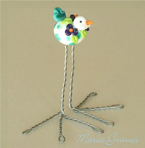 Lampwork Bird