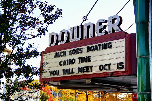 Downer Theater Marquee