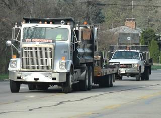 TCI Concrete International 9300 Dump Truck