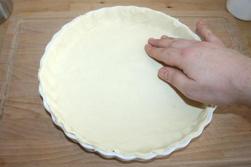 36 - Blätterteig einpassen / Fit in puss pastry