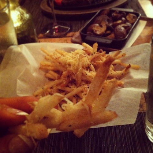 The Oak Table truffle fries