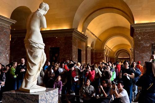 Photographing the Venus de Milo