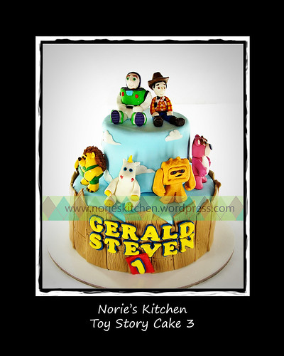 Norie's Kitchen - Toy Story Cake 3 by Norie's Kitchen