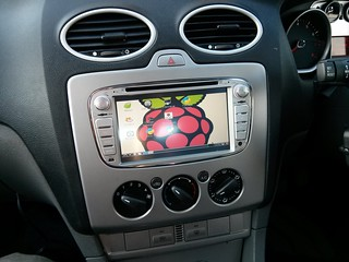 Raspberry Pi egy Ford Focus-ban