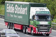 Volvo FH 6x2 Tractor - PX60 COA - Shirley Margaret - Eddie Stobart - M1 J10 Luton - Steven Gray - IMG_9140