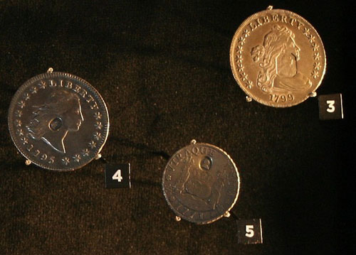 Royal Mint exhibit US coins
