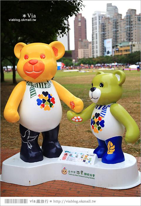 【台中泰迪熊草悟道】台中泰迪熊展2014地點(草悟道篇)~熊可愛‧親子熊超卡哇依!42