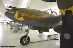 NX2114L 44-27083 5781 Tangerine - 422-8087 - Lockeed P-28L Lightning - Tillamook Air Museum - Tillamook, Oregon - 131025 - Steven Gray - IMG_8062