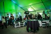 October 24, 2014 Event Reception - Inside Main Tent