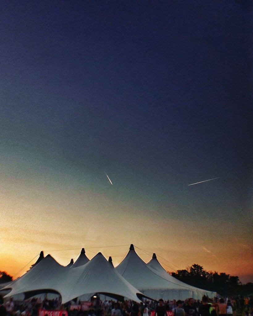 Sunset @idaysfestival  #Sunset #Colorful #colors #music #Festival #tent #Airplane #sky #blue #photography #photo #photooftheday #picoftheday #follow #followme #likesforfollow #igers #instago #instagood #idays #life