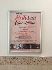 Exitos del Cine Latino Signage at Westfield Plaza Bonita