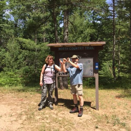 hike100nct hiking snow weekends solar solarclub activities outdoors mi michigan puremichigan getoutside exploremore findyourpark