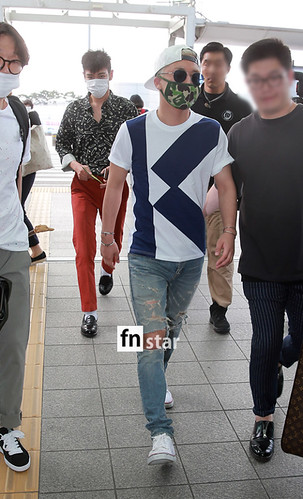 BIGBANG Incheon Airport to Shanghai Press 2015-06-19 087