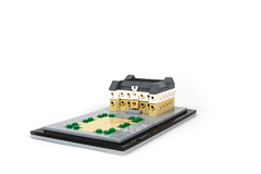 Lego microscale Rennes Parlement de Bretagne Brittany - atana studio
