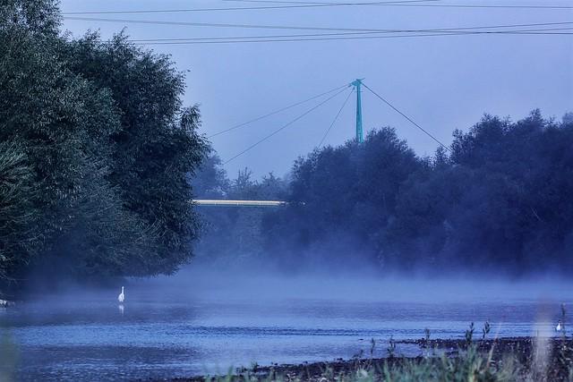 Foggy morning in Przemyśl:)