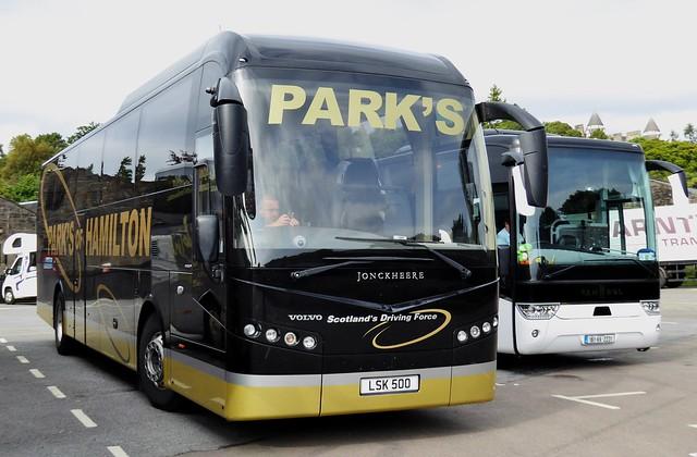 LSK 500 - Volvo B11R / Jonckheere C53Ft - Park's of Hamilton Ltd., Hamilton, Lanarkshire, Scotland.