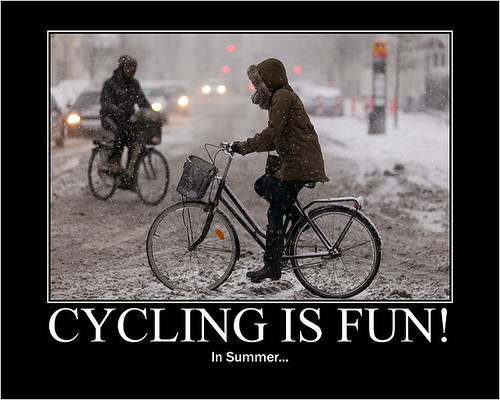 Cycling is Fun! In Summer... - Copenhagen Bikehaven by Mellbin