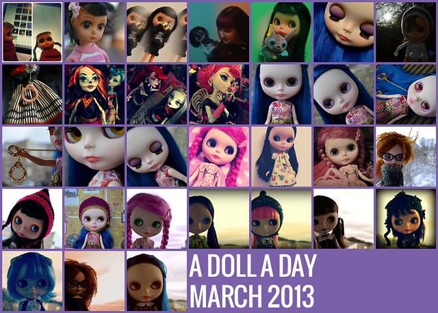 A Doll A Day - March 2013