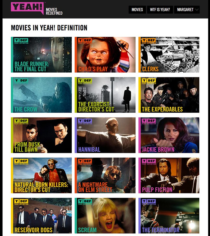 Off On A Tangent: Watching Yeah! Learning About Movies