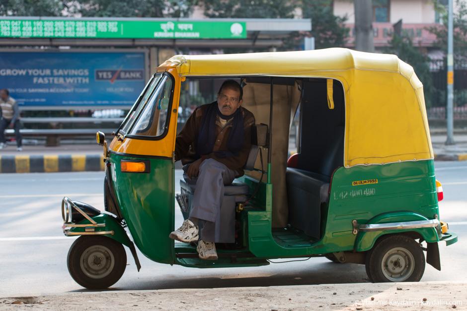 тук тук в Индии