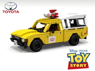 Disney / Pixar 'Toy Story' - Pizza Planet Delivery Shuttle