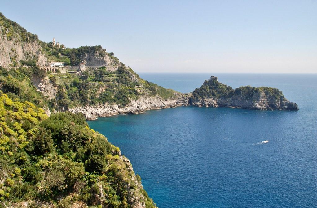 Italy, Amalfi Coast - Italy, Amalfi Coast - view from Conca dei Marini