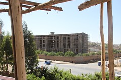 A five-star hotel being built on Jijiga's main road in Somali Region. Credit: William Lloyd-George/IPS