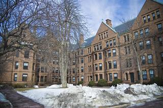 Harvard halls