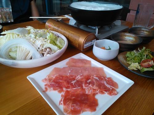 Pork Shabu Shabu with Hokkaido Snow Dome