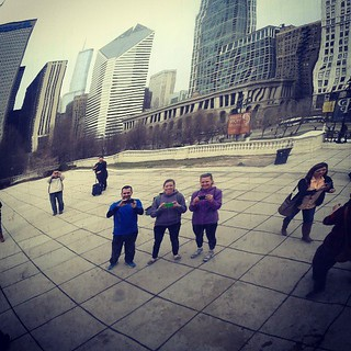 Bloggers in The Bean