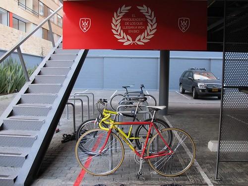 Wok en bici