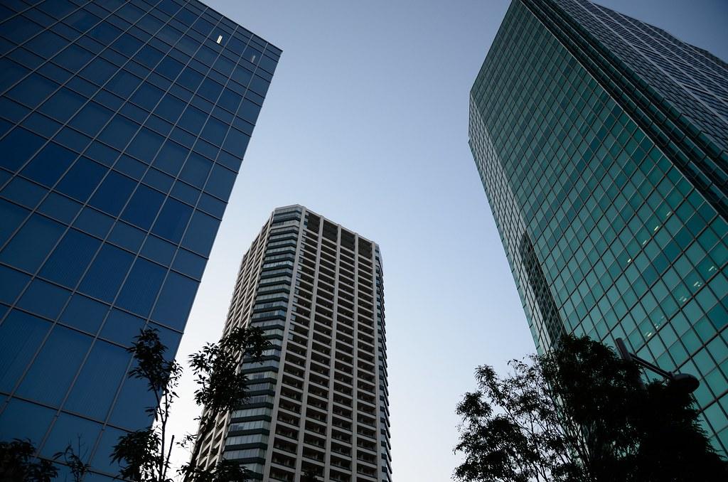 Buildings at Shirokane