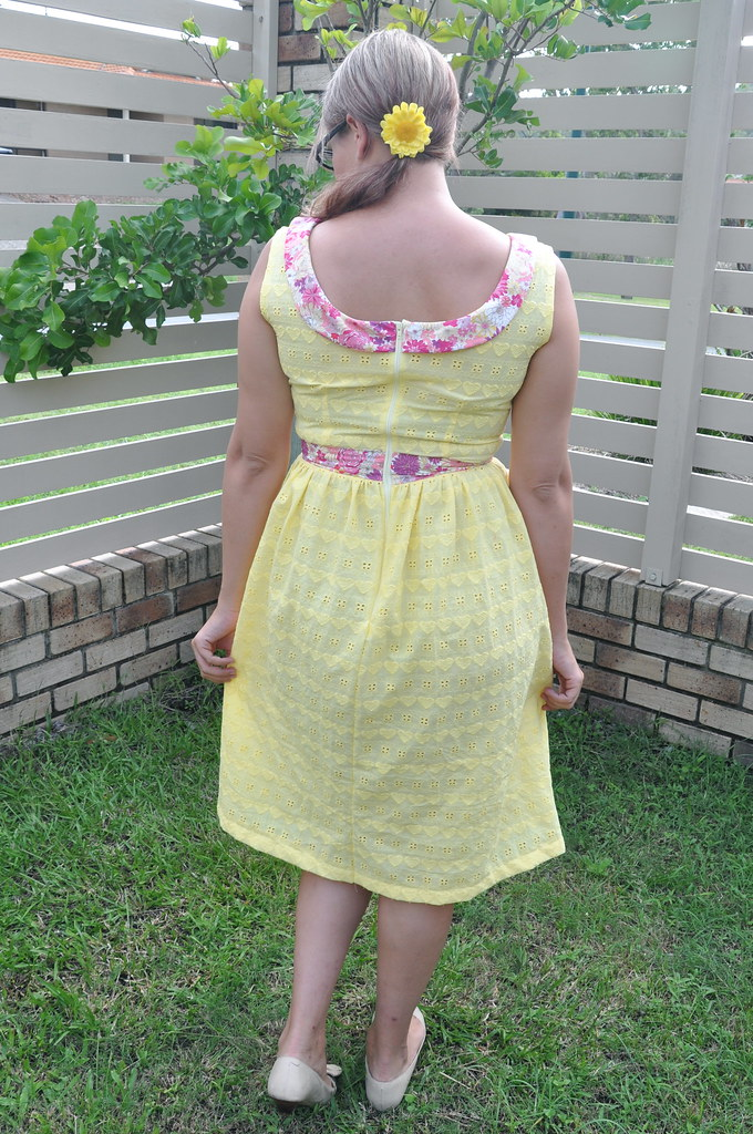 sewing dare dress perennial dress sewpony